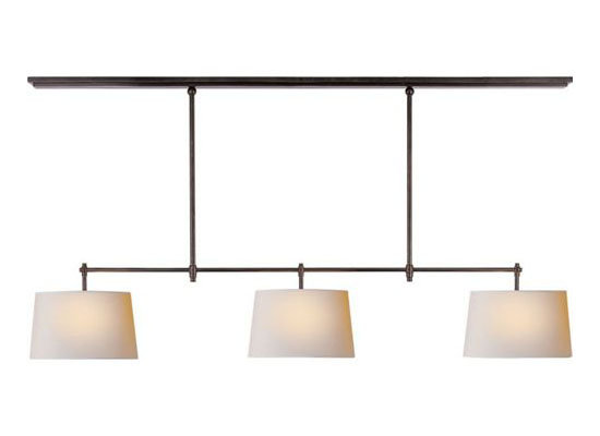 Visual Comfort TOB5005 Thomas O'Brien Bryant 3-Light Billiard Light