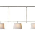 Visual Comfort TOB5005 Thomas O'Brien Bryant 3-Light Billiard Light Adds Vintage and Modern Touch to The Room