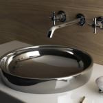 Vitra Water Jewels Wash Basin with Platin Bowl by Matteo Thun