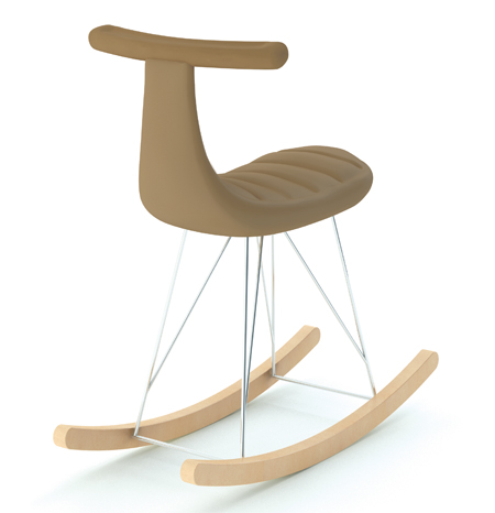 voso-voso 3 rocking chair