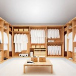 Walk-in Wardrobe by Team 7 for High-End Homes