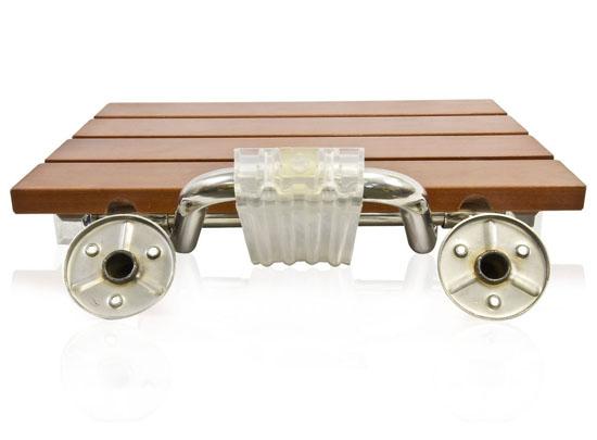 Wall Mount Shower Bath Seat Shower Bench Folding Seat