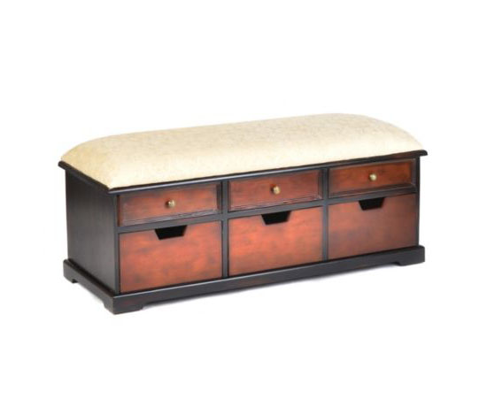 Walnut Flynn Storage Bench