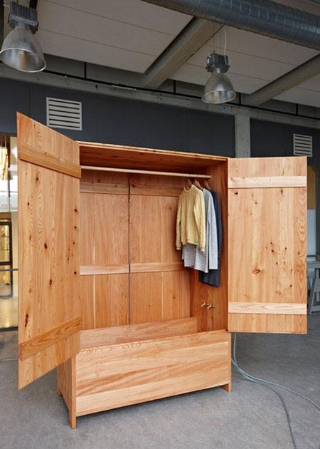 Wardrobe Sauna