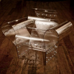 Well Transparent Chair: A Clear Vision Of Art