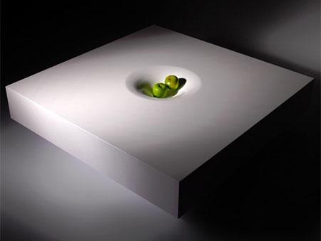 White Dessert Coffee Table
