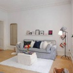 Modern Apartment : Paint The Town White For A Fresh And Cozy Interior