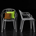 Excellent Garden Furniture Made of Wires by Killian Schindler
