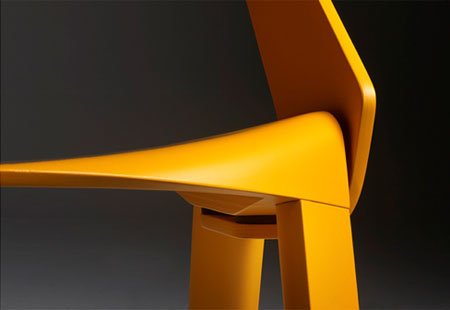 Simple Chair Design simple chair design by concepta modern wooden furniture Wogg 50