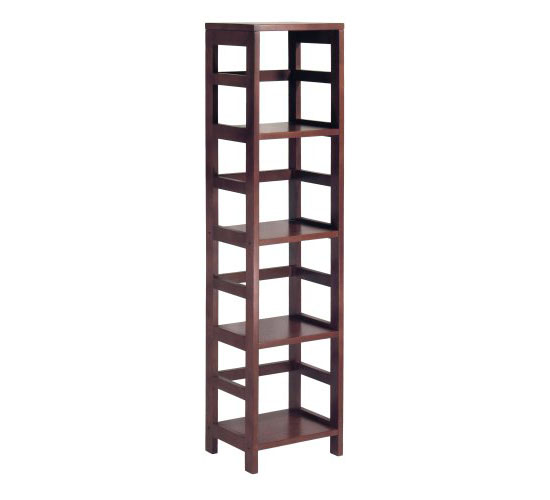 Wood Narrow Shelving Unit from Winsome