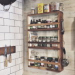 Vintage and Sustainable Wood Apothecary Cabinet Storage