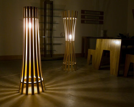 and decorate with the wooden floor lamps modern home decor