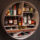 Libation Station : Round Home Bar Storage Solution From Sean Woolsey