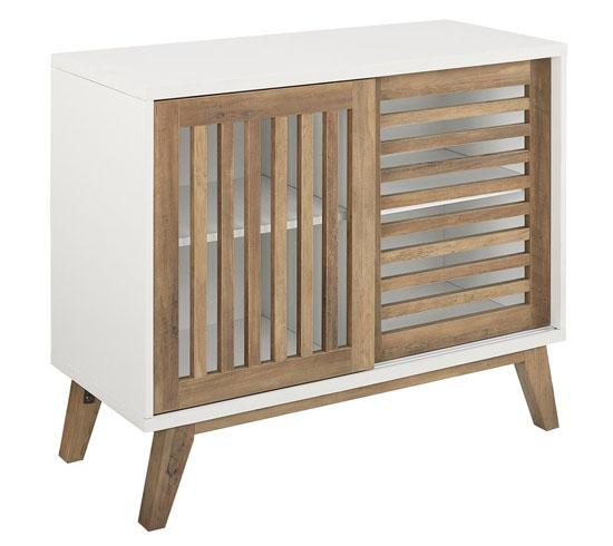 Wrought Studio Polla Accent Cabinet for Urban Bohemian Decor Style