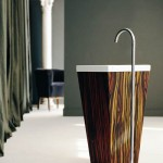 Wooden Washbasin from WS Bath Collections