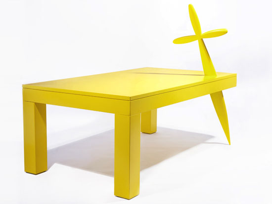 Yellow Eroe Table