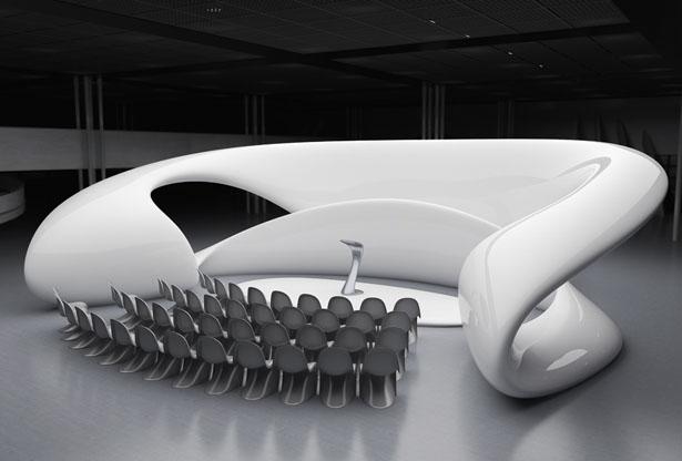 Zaliva Multifunctional Structure by Nuvist