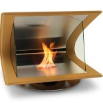 Stylish Zeta Fireplace For EcoSmart