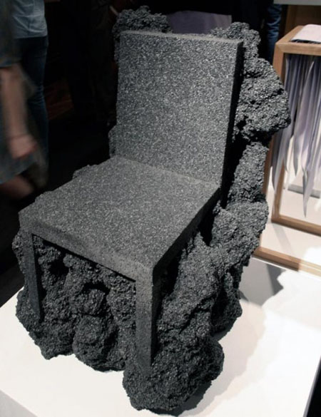 Volcanic Rock Chair